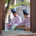 下御霊神社 東遊 演奏