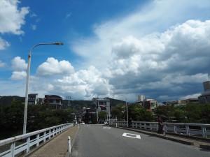 団栗橋にて