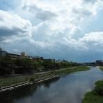 鴨川 8月