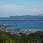 大内峠からの天橋立 8月