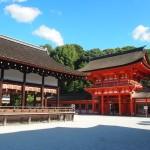 下鴨神社 楼門と舞殿