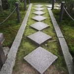 天授庵 菱形の畳石