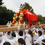松尾大社 八朔祭 女神輿 9月