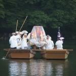 女神輿 船渡御