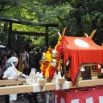 松尾大社の八朔祭 女神輿