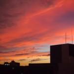京都の夕焼け 9月4日