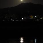 出町柳からの満月