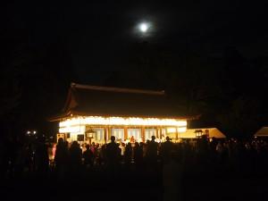上賀茂神社 賀茂観月祭