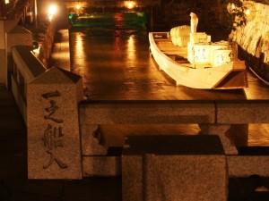 高瀬川ライトアップ