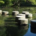 平安神宮 飛び石