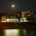 鴨川 中秋の名月