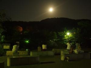 円山公園 中秋の名月