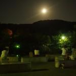 円山公園 中秋の名月 9月