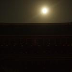 知恩院 三門と中秋の名月