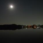 広沢池 月