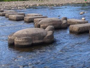 出町柳の飛び石