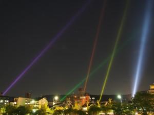 未来への光 ~東山 天空のライトアップ~