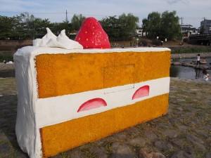 出町柳のショートケーキ