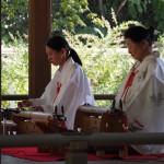 梨木神社 萩まつり 二弦琴
