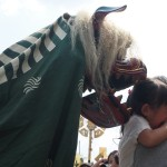 晴明神社 晴明祭 獅子舞に泣く子ども