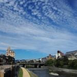 鴨川と空 9月