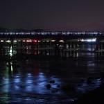 渡月橋 夜景 9月