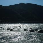 嵐山 水位も平常に戻る