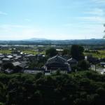 椿井大塚山古墳 後円部からの眺め