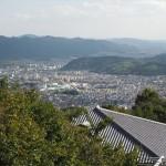 花山天文台からの山科