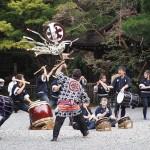 滝尾神社 神幸祭 泉涌寺にて 9月