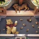 ずいき神輿 クマのプーさん