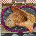 ずいき神輿 鯛