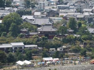 朝日山からの平等院