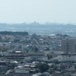 朝日山からの眺め