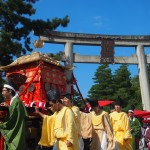 北野天満宮 ずいき祭り 神幸祭