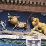 ずいき神輿 ライオンキング
