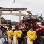北野天満宮 ずいき祭 還幸祭 10月