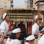 ずいき祭り 西ノ京の子ども神輿