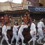 ずいき祭 還幸祭 ずいき神輿