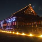 西本願寺 ライトアップ