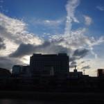 鴨川からの空