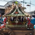 御園神社 ずいき神輿 10月