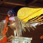 粟田神社 粟田祭 神輿の上に鳳凰復活 10月