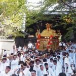 粟田祭 青蓮院から出る神輿