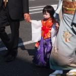 粟田祭 お稚児さん