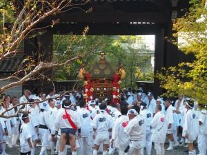 粟田祭 青蓮院にて