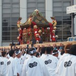粟田祭 神輿差し上げ