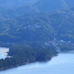 天橋立 傘松公園から望む天橋立ビューランド