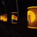 竹の径 かぐやの夕べ