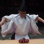 岡崎神社 式包丁 10月